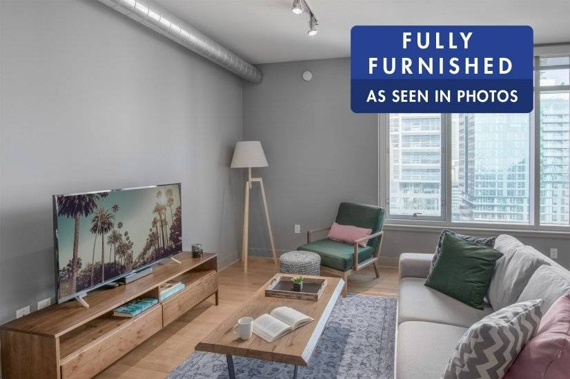 Fully Furnished 1BR close to LACC