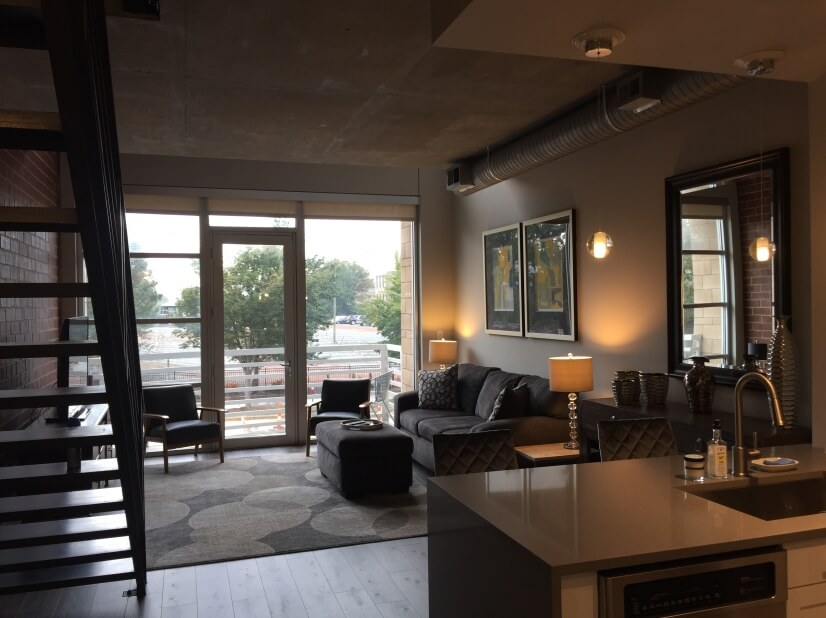 Two Story 1 BR Luxury Loft Apartment