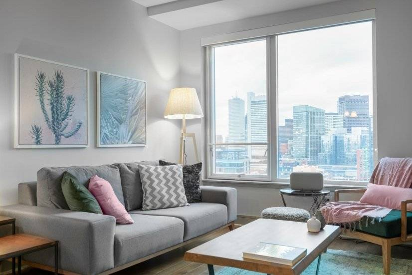 Furnished, Ample Seaport 1BR w/ Gym
