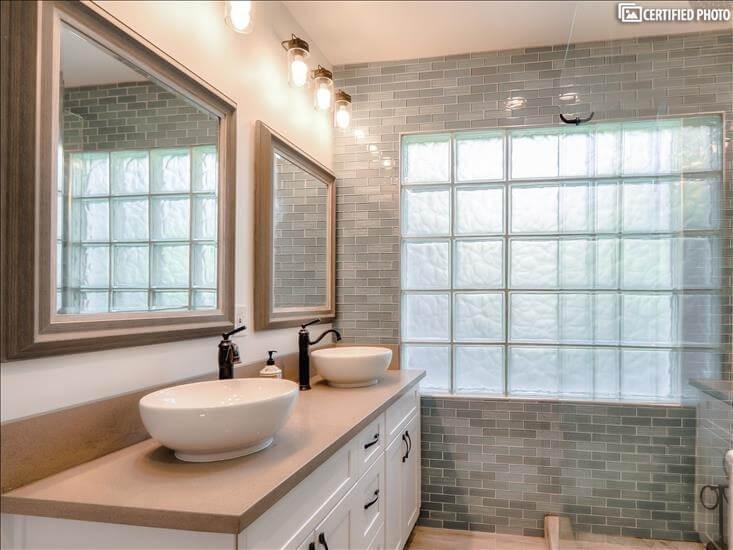 Master Bath 1 - Dual Vanities