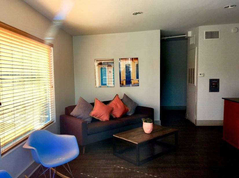 Rooftop Indoor Lounge