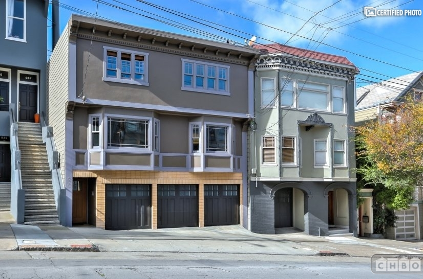 image 2 furnished 1 bedroom Townhouse for rent in Noe Valley, San Francisco