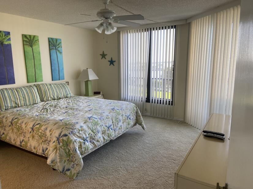 Large, fully furnished, master bedroom.