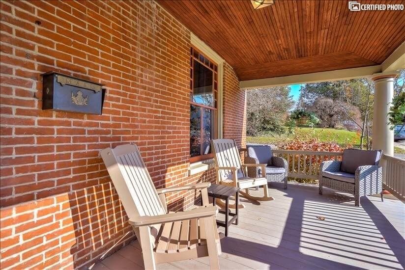 Front Porch and Seating