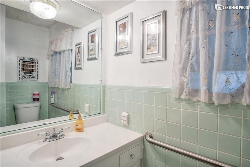 Original well maintained bath with updated fixtures.