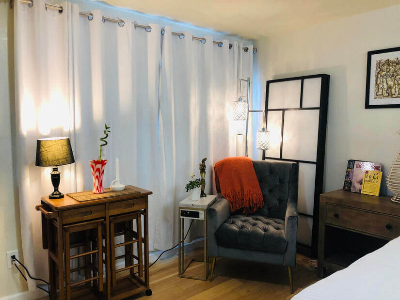 Ground Floor Master Bedroom Sitting Area