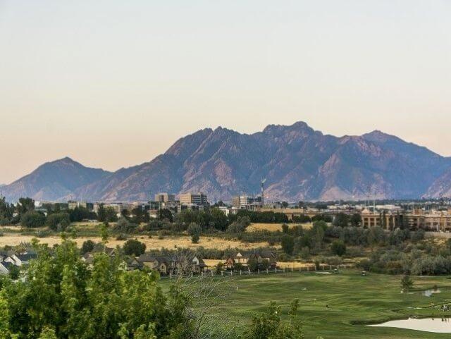 Arieal view golf course & Riverwalk community