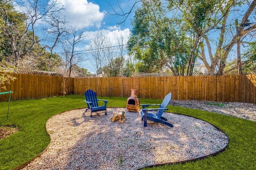 Nice Size Backyard