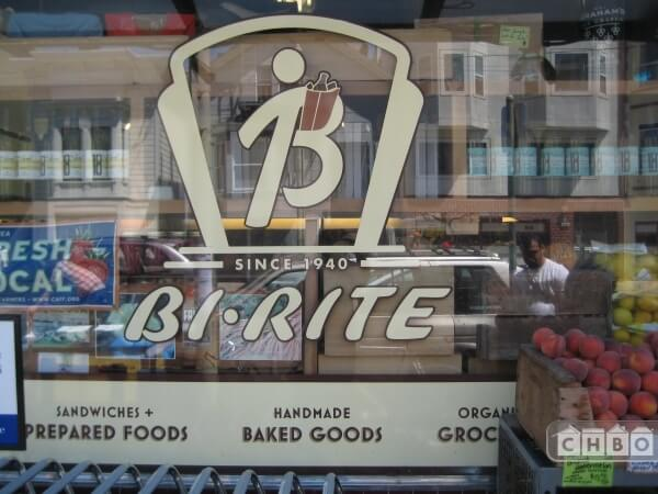 Sought after Bi-Rite Ice Cream and freshest groceries