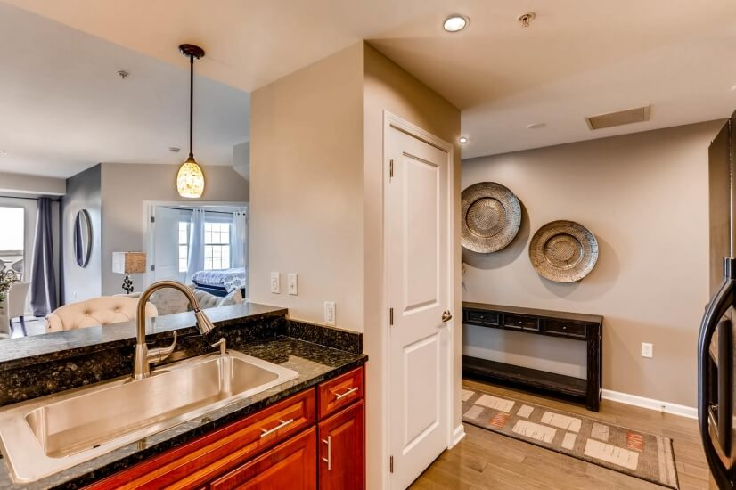Upgraded fixtures in kitchen create new feel