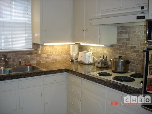 Updated Granite Kitchen - Pull out shelves
