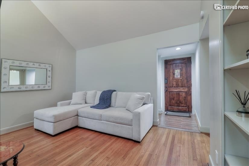 Family room - as you enter from the front entrance door.