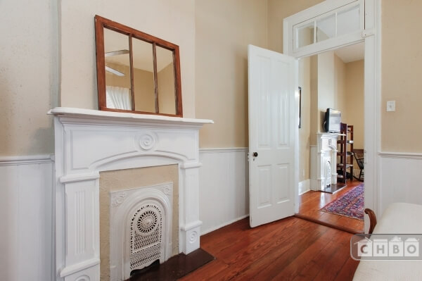 Many original architectural details. Fireplaces, wainscoting