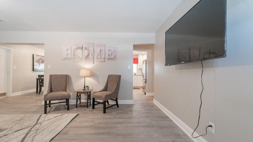 Living Room/TV Provided