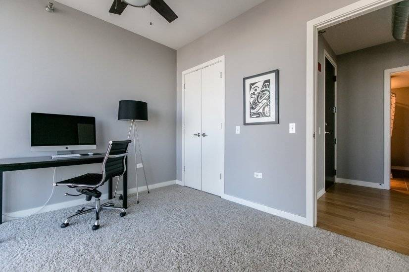 North Exp: Second bedroom as office
