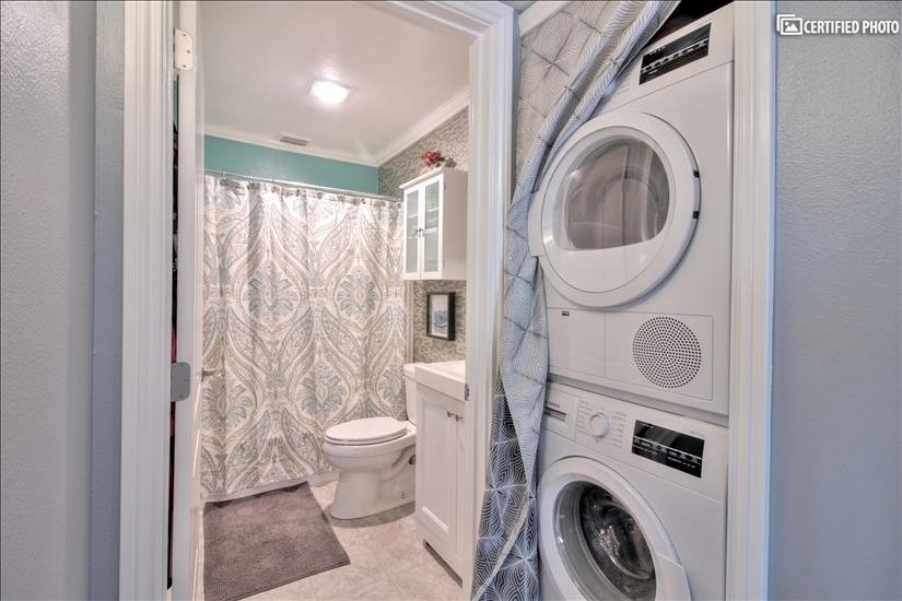 In-Unit Washer & Dryer, in additional to community laundry