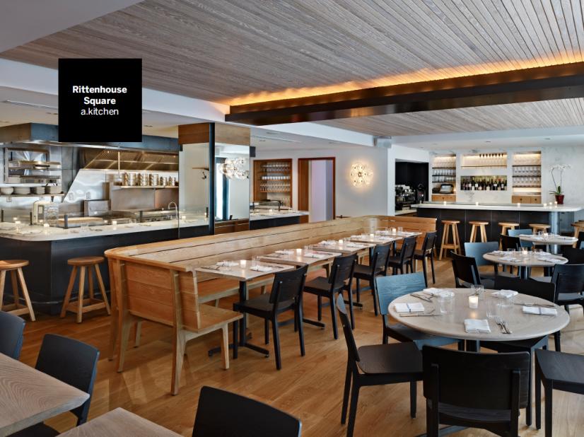 On-site award winning restaurant - a.kitchen