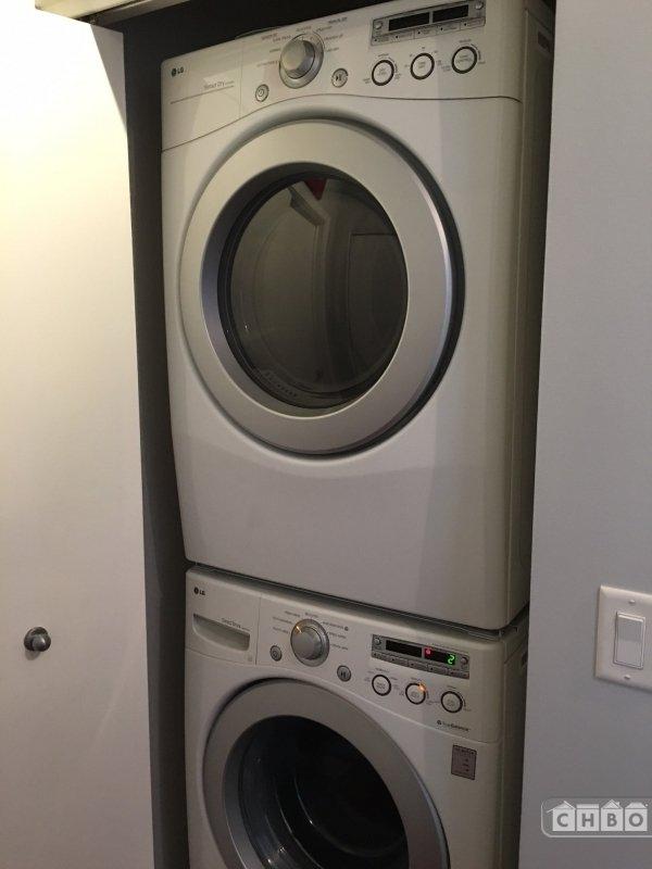 In-unit washer dryer