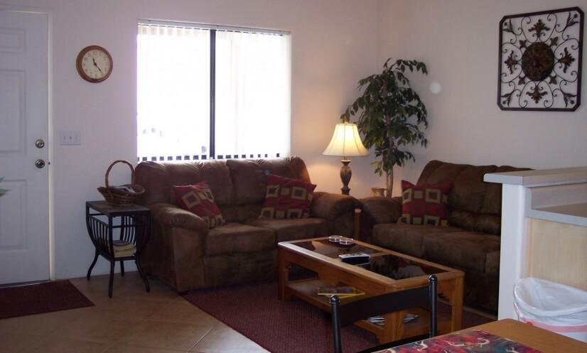 LCD tv livingroom