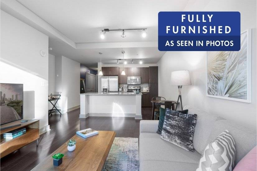 Fully Furnished,Seaport 1BR, w/ Pool,Gym