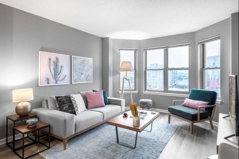Fully Furnished 1BR in 14th Street