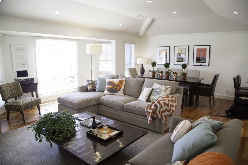 image 1 furnished 2 bedroom Townhouse for rent in Richmond District, San Francisco