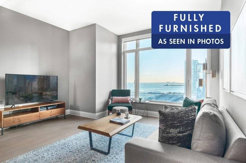 Fully furnished 1BR in Streeterville