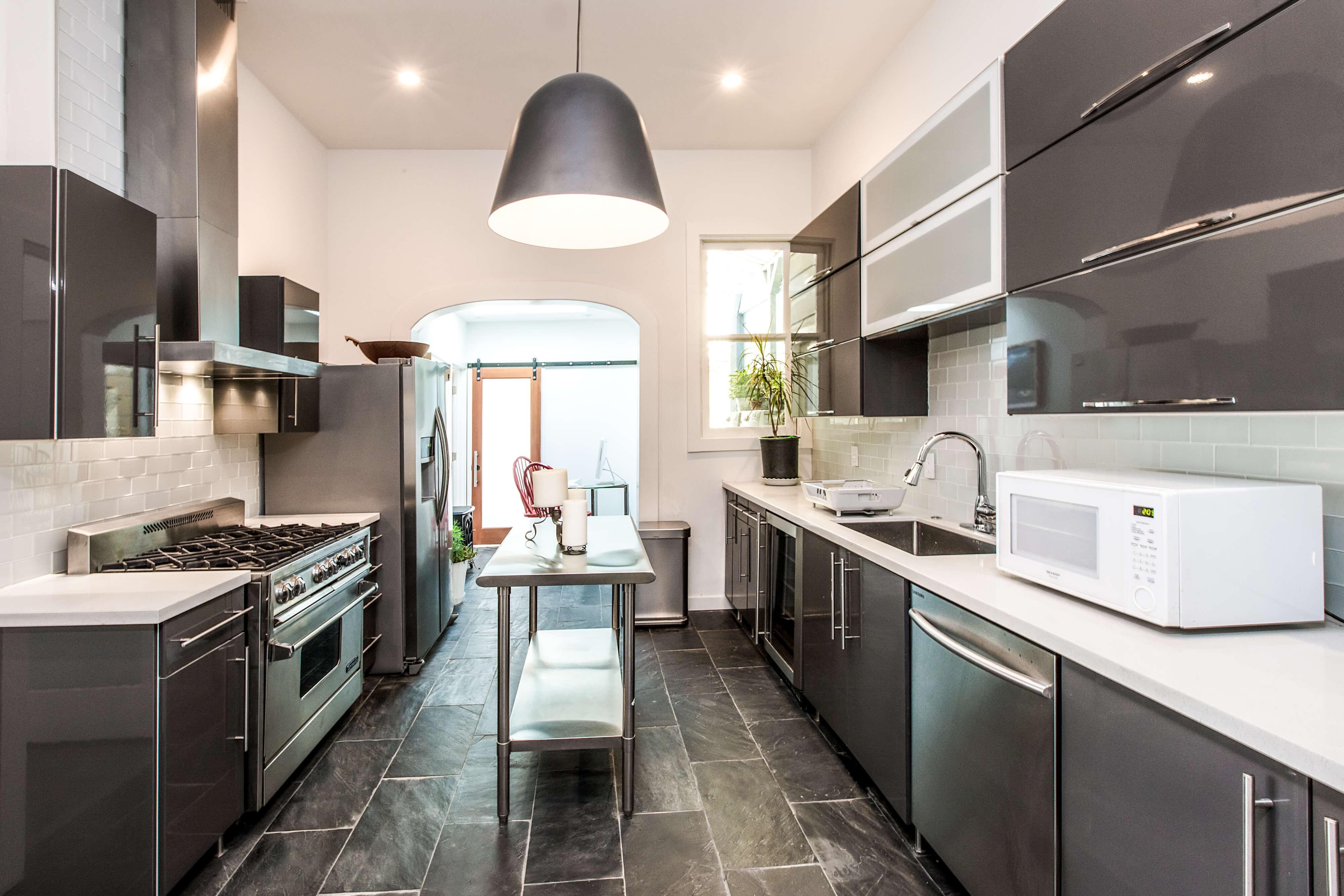 Kitchen Area - View 1