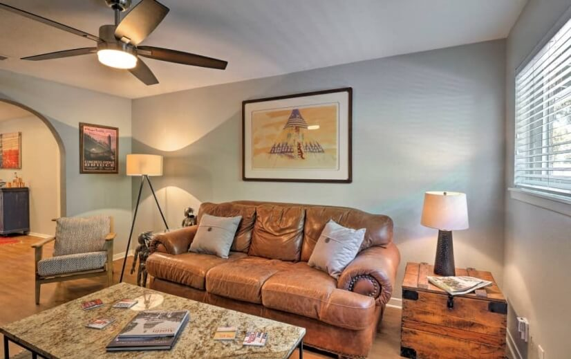In Town 2 bed / 1 bath Zilker Duplex