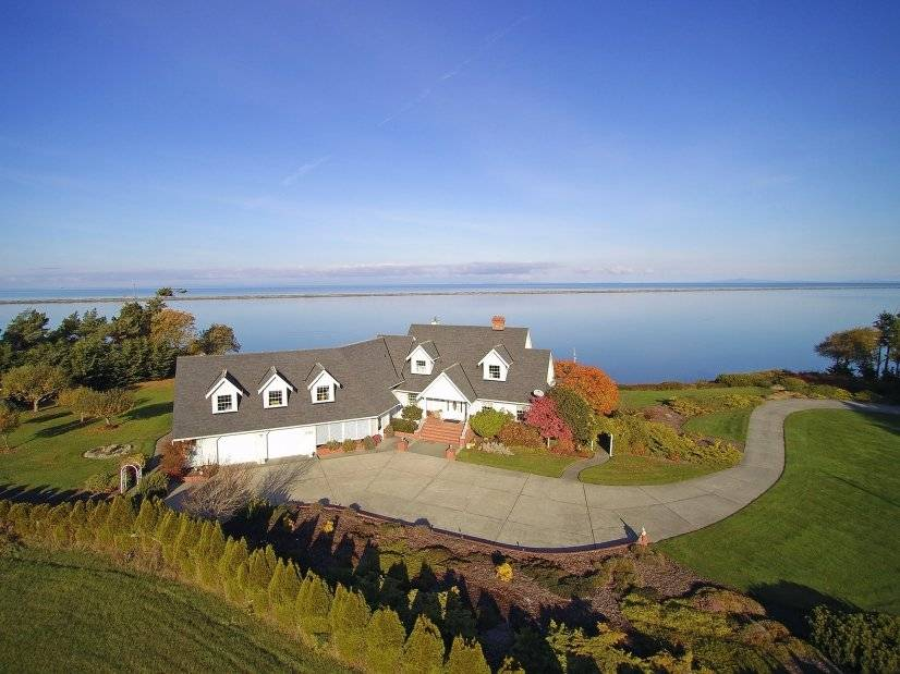 Dungeness Bay Manor Sequim furnished rental