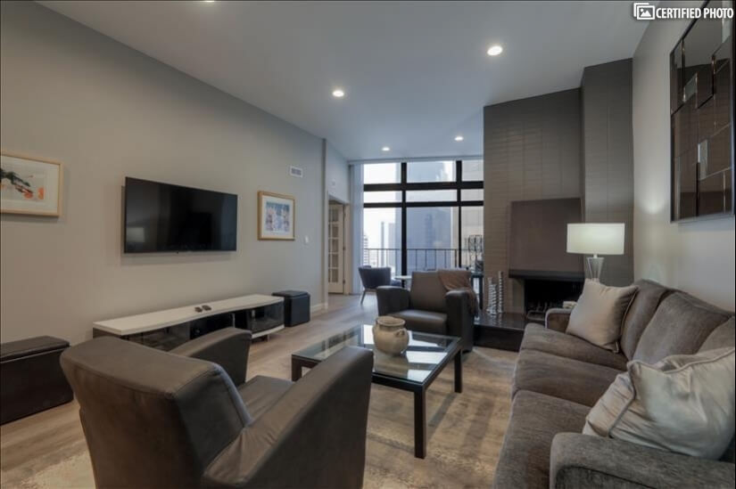 Beautiful Furnished Penthouse Downtown