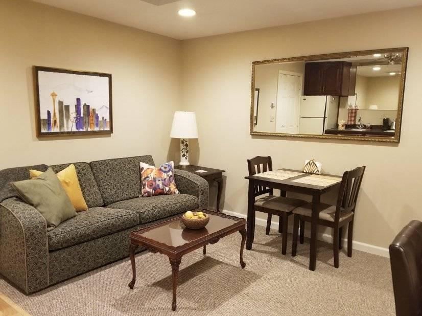 1 bedroom Bellevue