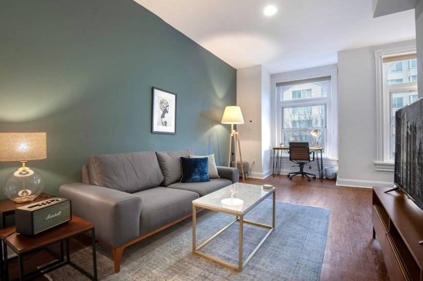 Central Dupont Circle 1BR near metro