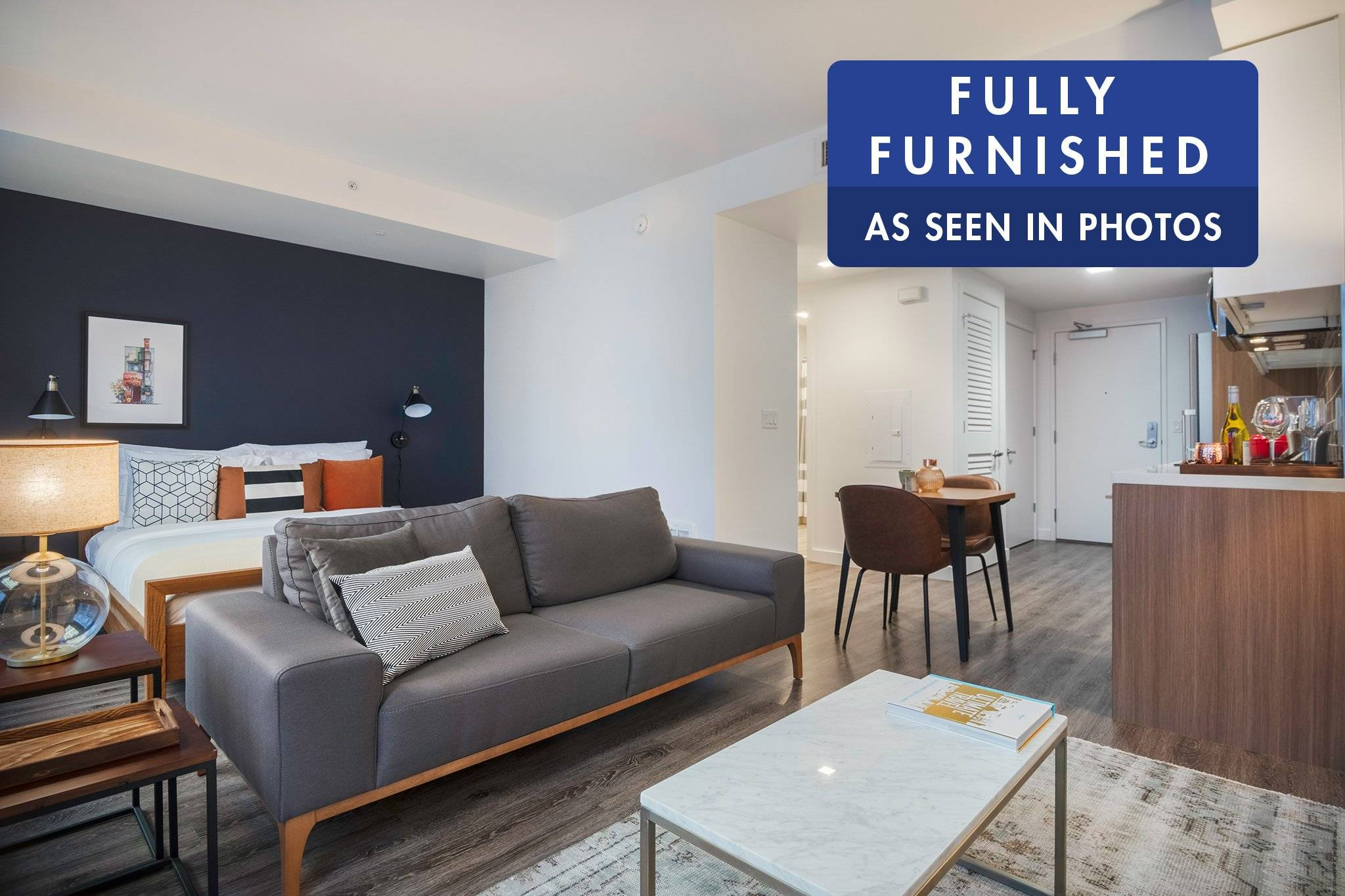 Furnished monthly rental in San Francisco