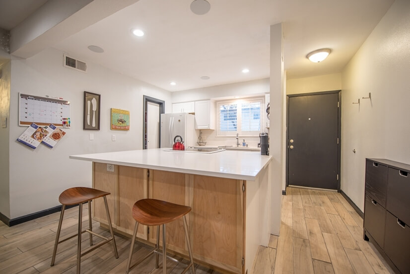 Kitchen and Entrance fully furnished Austin c