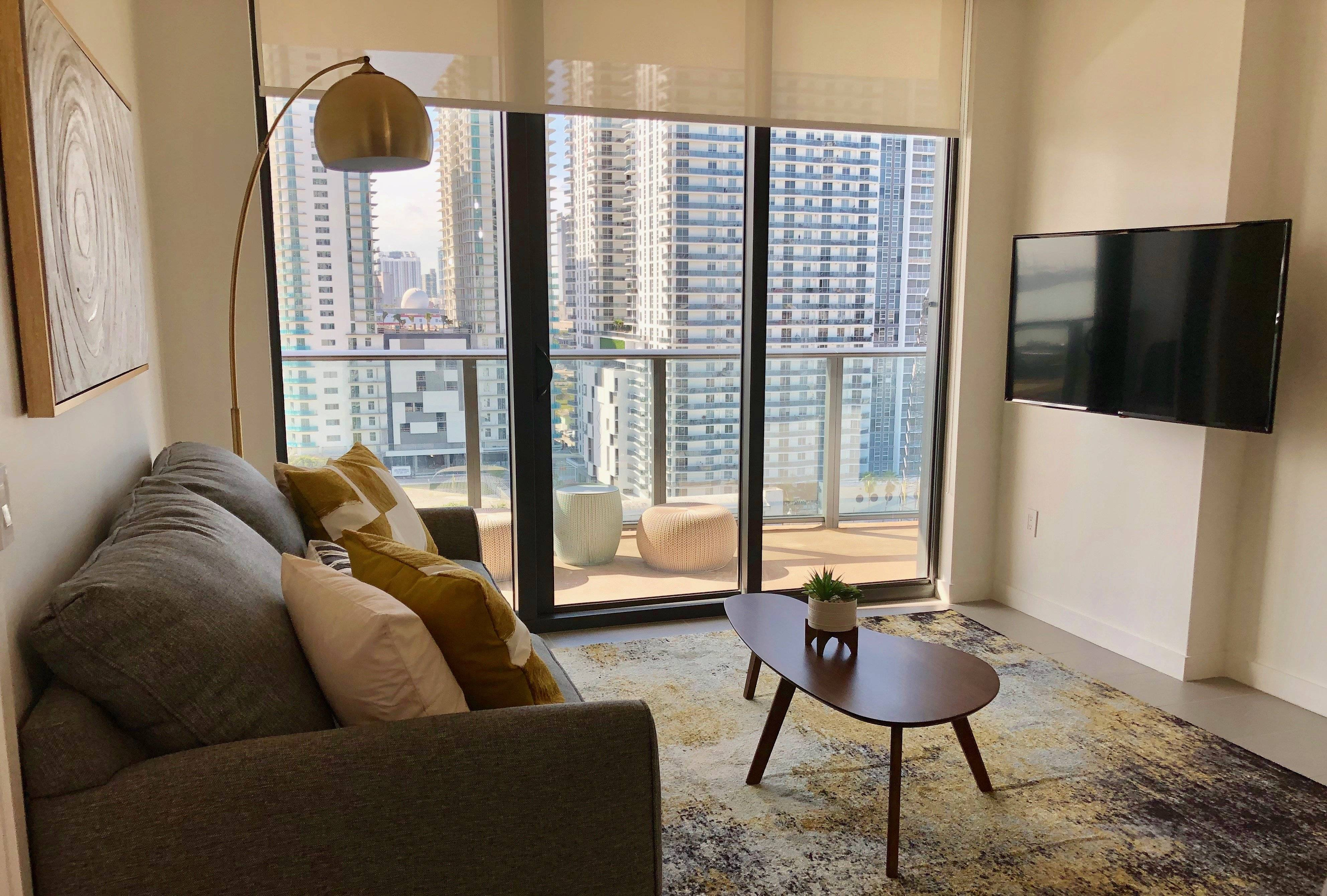 Fully furnished corporate apartment in Miami