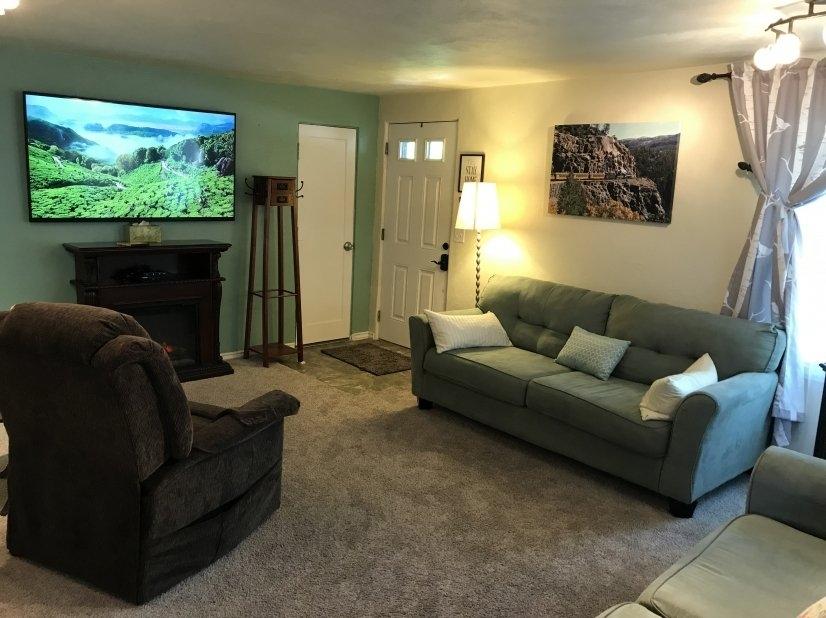 Living Room, 65 inch smart TV