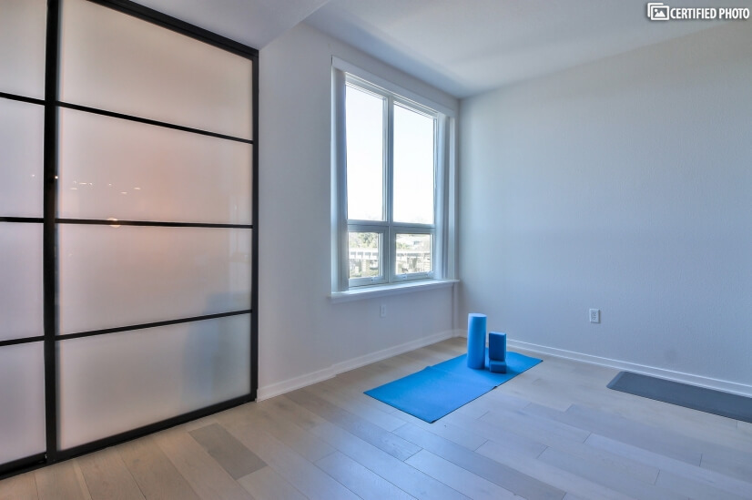 Yoga Area inside Condo.