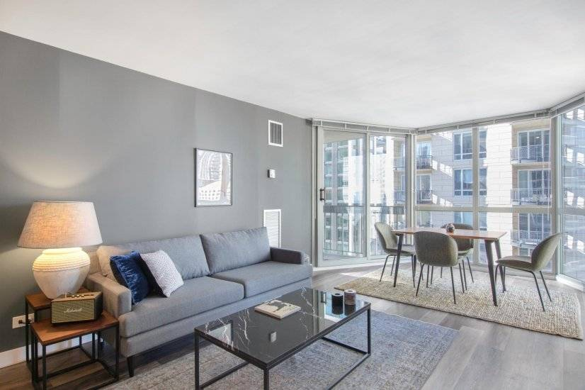Sleek Gold Coast 1BR w/ Gym, Patio