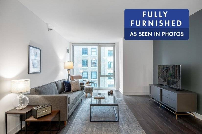 Fully Furnished,The Loop 1BR w/Gym, Pool