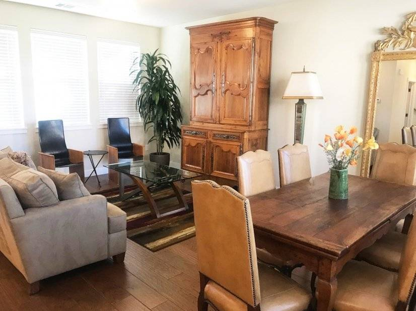 Fully furnished 2 bdrm Townhome near Downtown Menlo Park CA