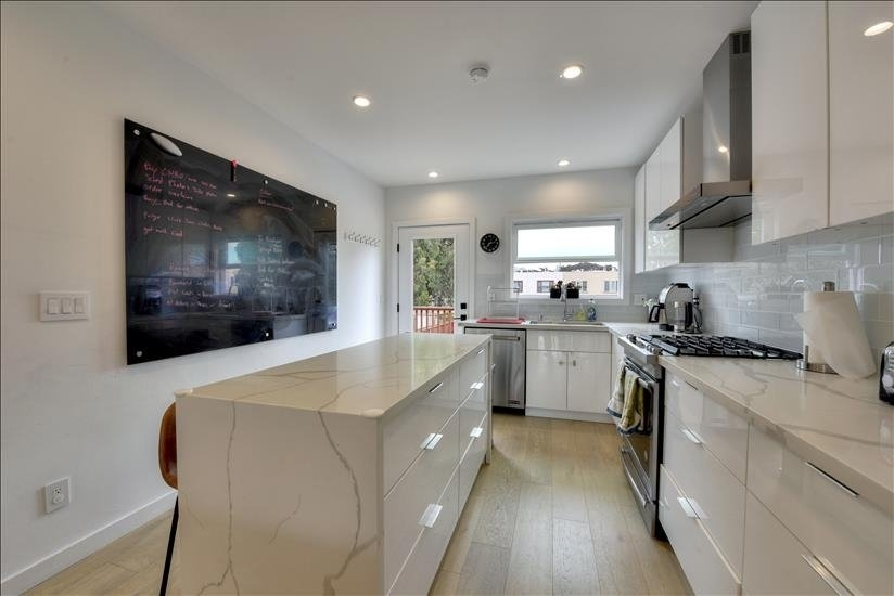 Furnished corporate rental kitchen in SF CA