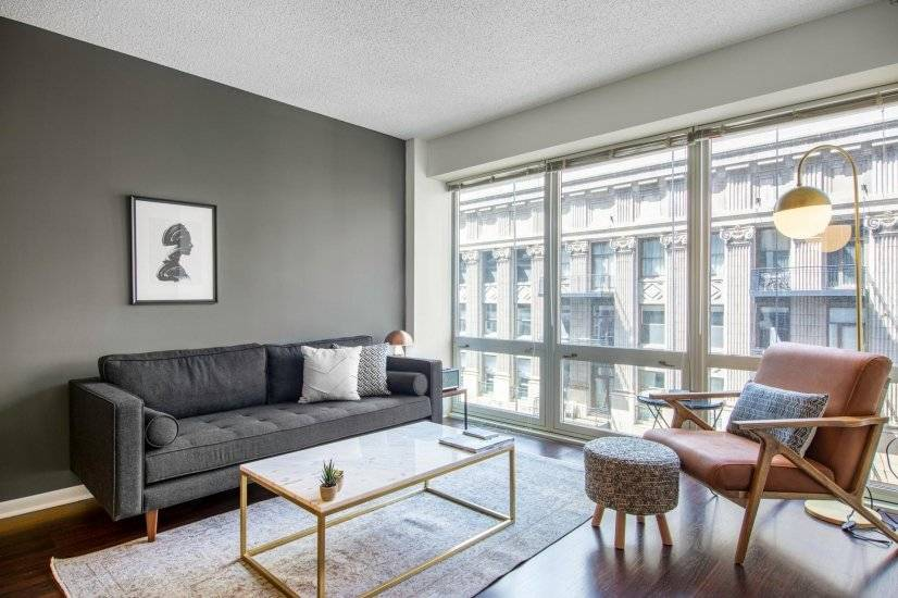 Furnished, Dapper Loop 1BR w/ Gym, Pool