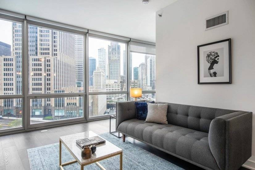 Furnished, Streeterville 1BR w/ Gym,Pool