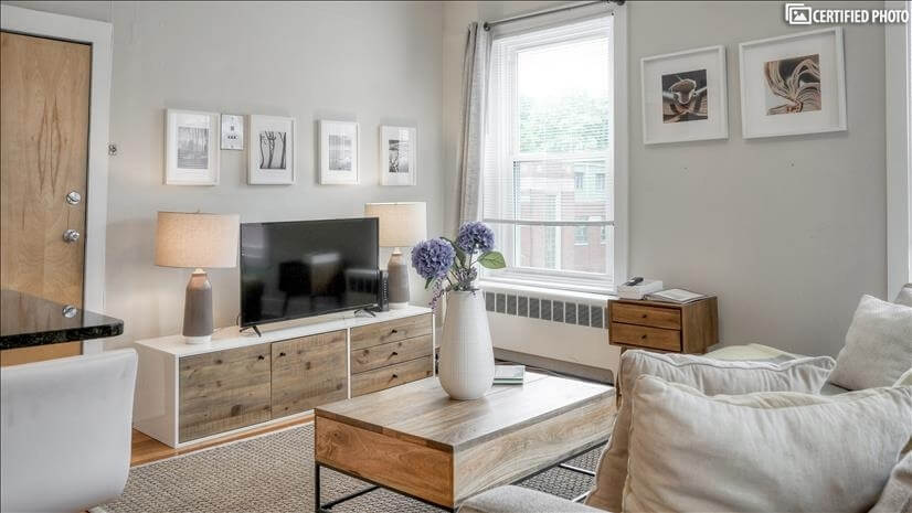 Furnished 2 Bedroom in Central Boston