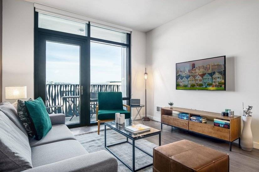 Furnished, Convenient Mission Bay 2BR
