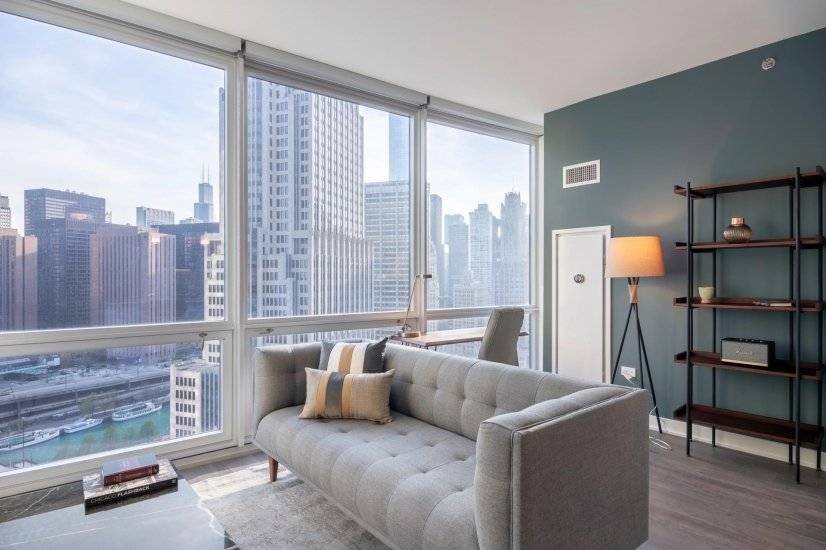 Furnished, Streeterville 1BR Gym & Pool