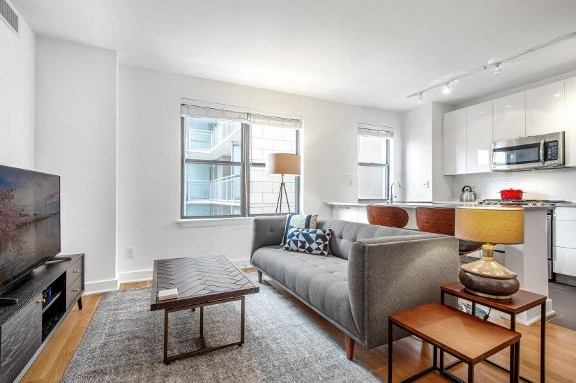 Comfy Dupont Circle 1BR w/ Gym  W/D