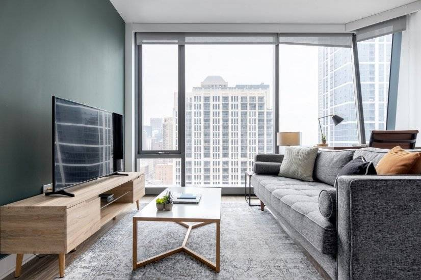 Furnished, South Loop 1BR w/ Pool & Gym