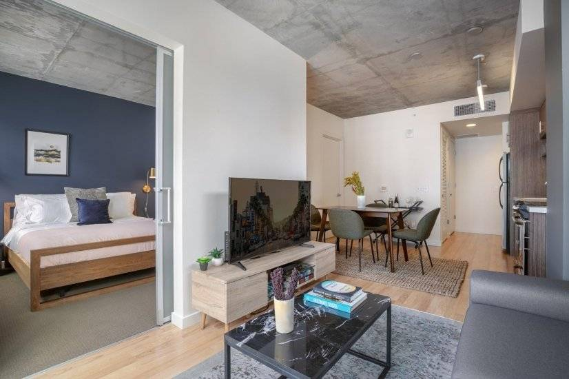 Rad Lower Nob Hill 1BR w/ W/D  Roofdeck